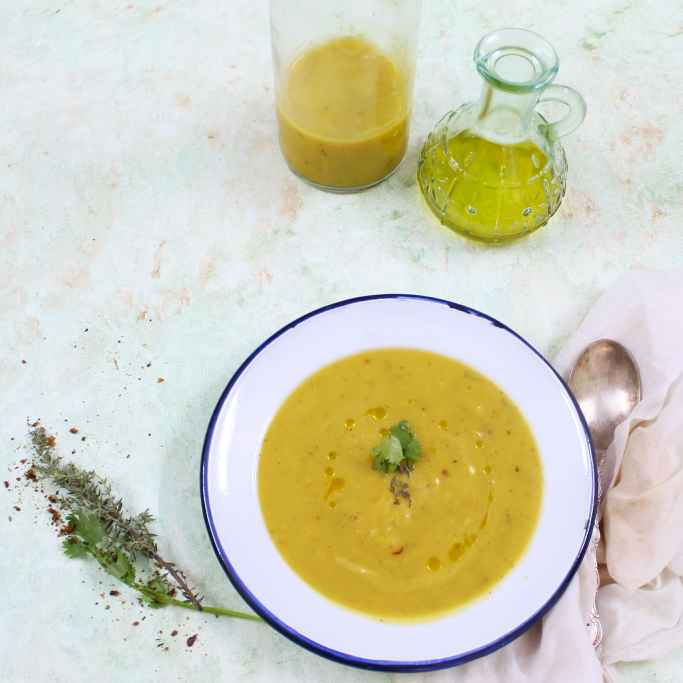 Photo of Roasted Pumpkin Soup by Shalini Digvijay at BetterButter