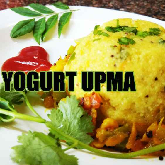 How to make Yogurt Upma