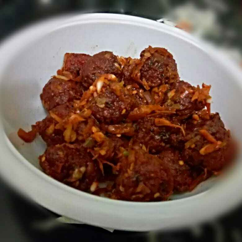 How to make Dry Manchurian