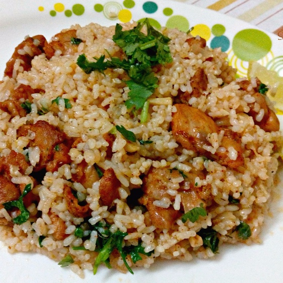 How to make Cilantro Lime Chicken and Rice
