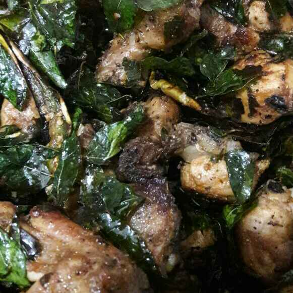 How to make Pepper chicken andhra style