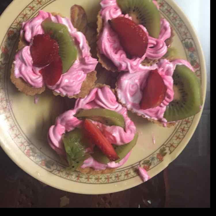 How to make fruity tart