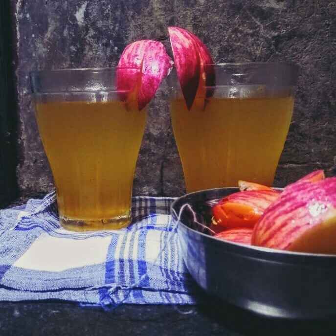 Photo of Apple punch iced tea by Shamayita Banerjee at BetterButter