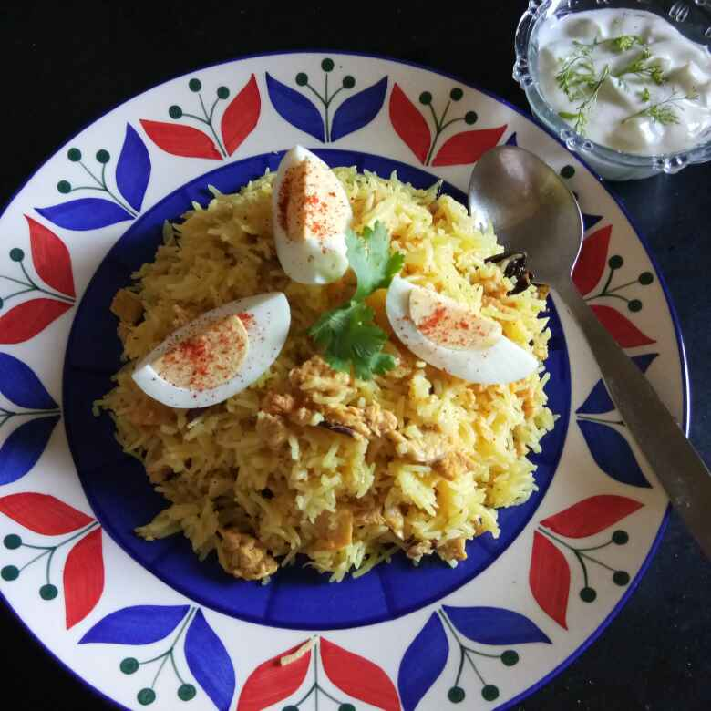 Photo of Keema pulao in microwave oven by Shampa Das at BetterButter