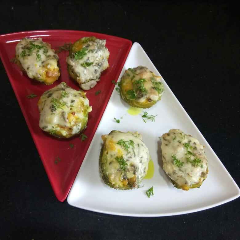 Photo of Baked Malai Kankrol by Shampa Das at BetterButter