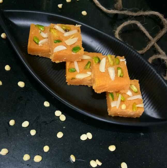 Photo of Chana dal barfi by Shampa Das at BetterButter