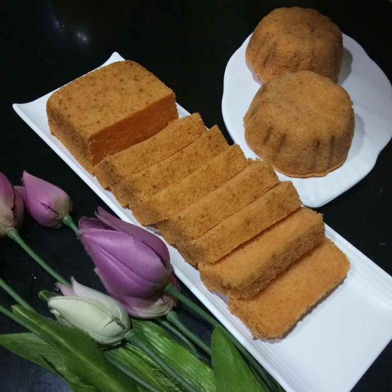 How to make Orange Cake With Tang Powder  ( without egg  )