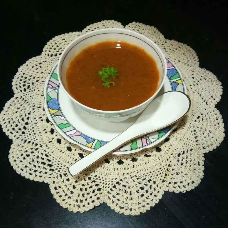 Photo of Carrot coriander soup by Shampa Das at BetterButter