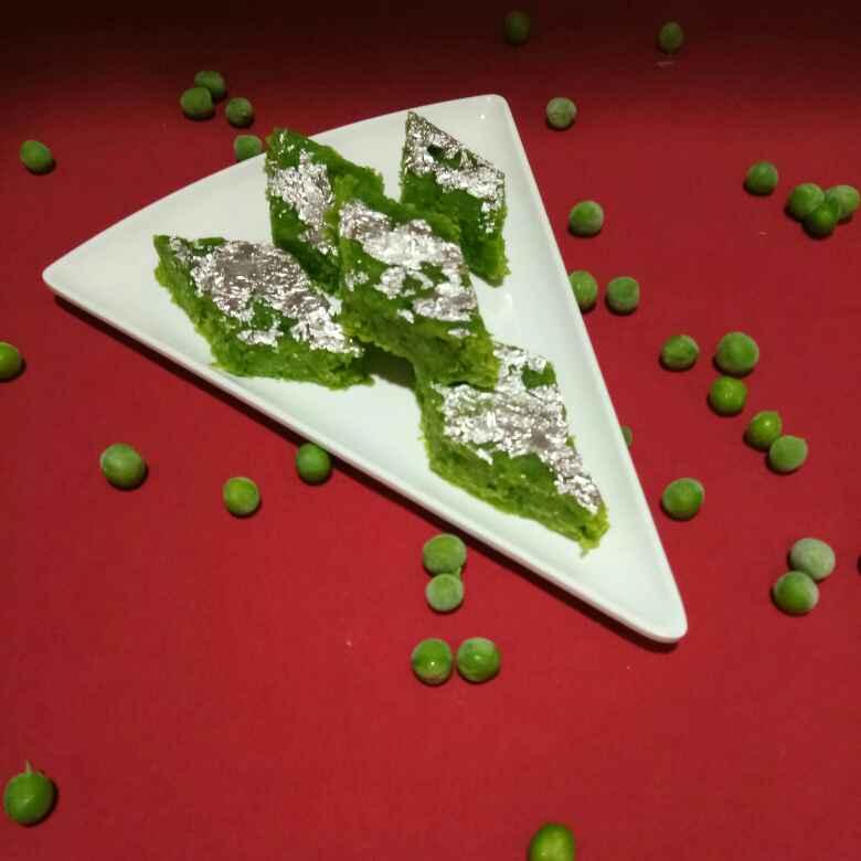 Photo of Green peas barfi by Shampa Das at BetterButter
