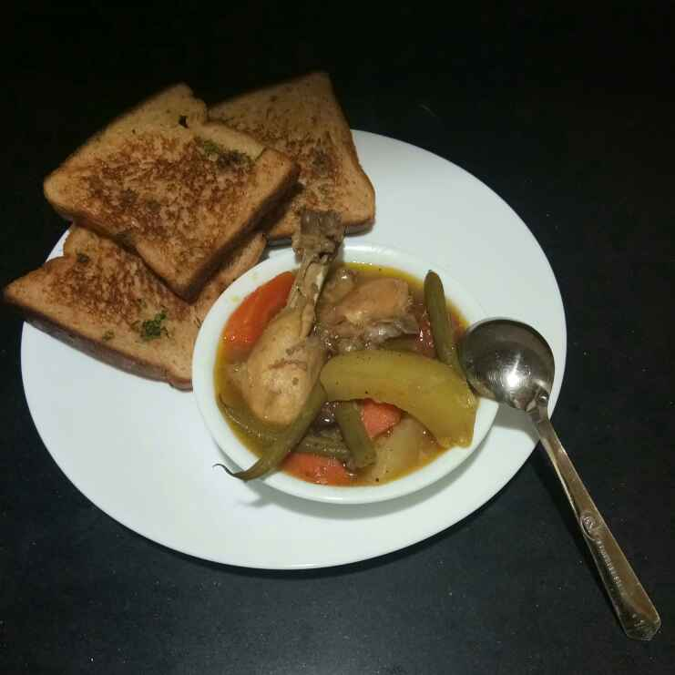 How to make Kolkata style chicken stew