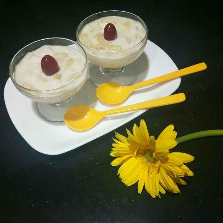 Photo of No cook tender coconut dessert by Shampa Das at BetterButter