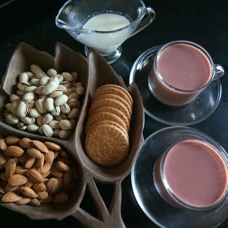 Photo of Kashmiri Pink Tea by Shampa Das at BetterButter