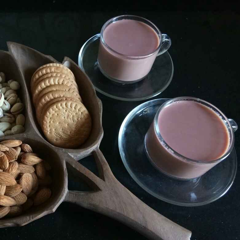 Photo of Kashmiri Pink Tea by Shampa Das at BetterButter