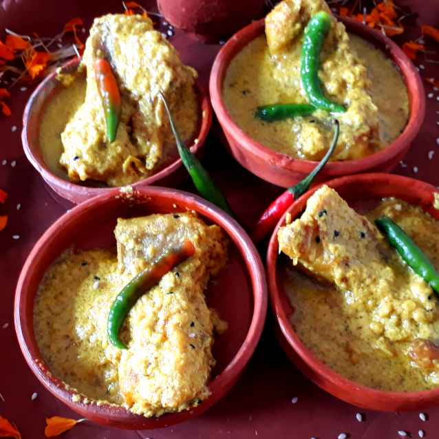 Photo of Rohu Fish With Sesame and Mustard Paste. by Shampa Dighal at BetterButter