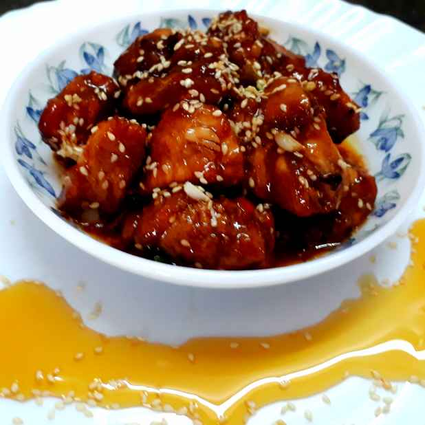 Photo of Honey Garlic Chicken by Shampa Dighal at BetterButter