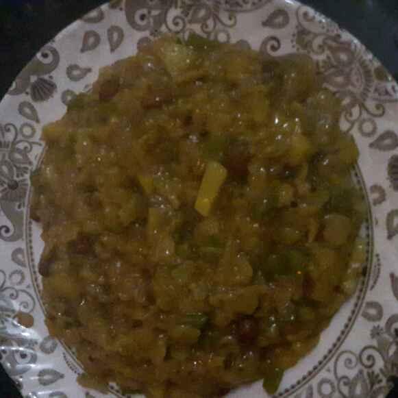 Photo of Masala roti upma...frm leftover roti by shanta singh at BetterButter