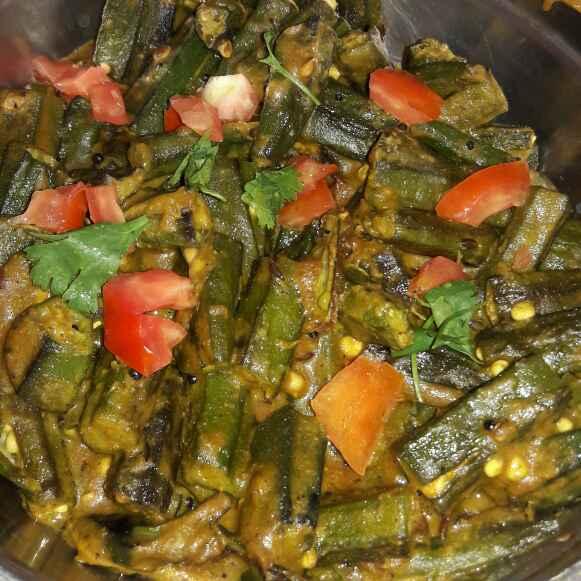 How to make Masala bhindi (spicy okra)