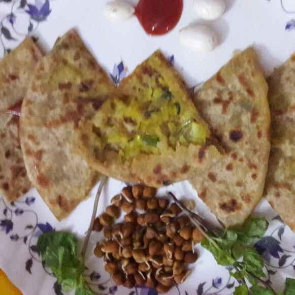 Photo of Shallow fry aaloo paratha by shanta singh at BetterButter