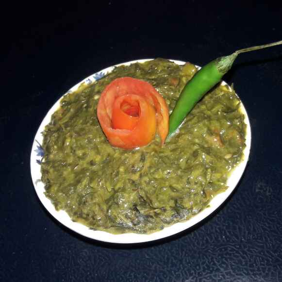 How to make Chane ka saag