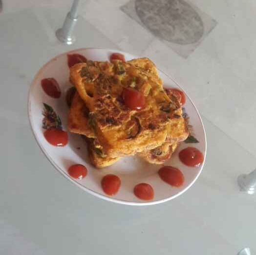 Photo of Besan bread toast by shanta singh at BetterButter
