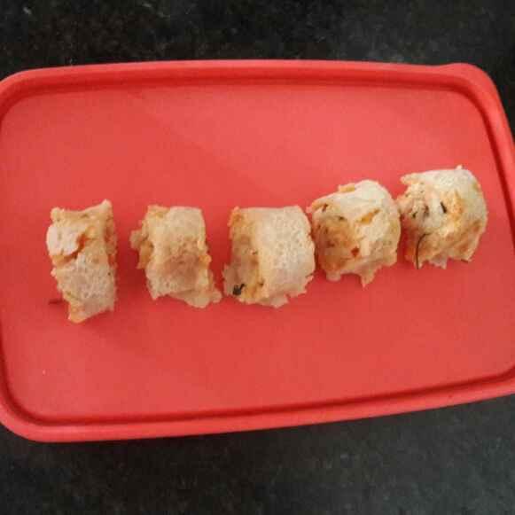 Photo of Sooji roll (aalu-paneer  roll ) by shanta singh at BetterButter