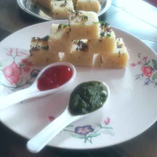 Photo of Rava dhokla /instant safed dhokla by shanta singh at BetterButter