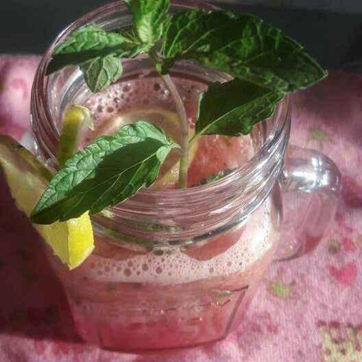 Photo of watermelon mint cooler by shanta singh at BetterButter