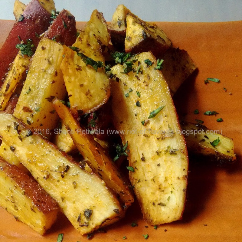 How to make Smoky Sweet-Potato and Rosemary Wedges