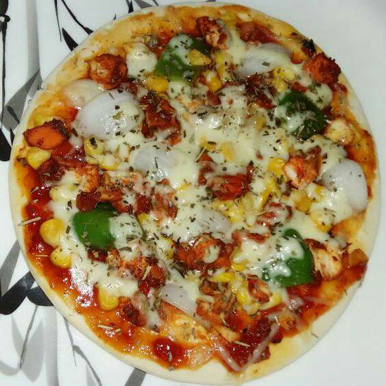 Photo of Chicken Tikka Pizza by sharana shan at BetterButter