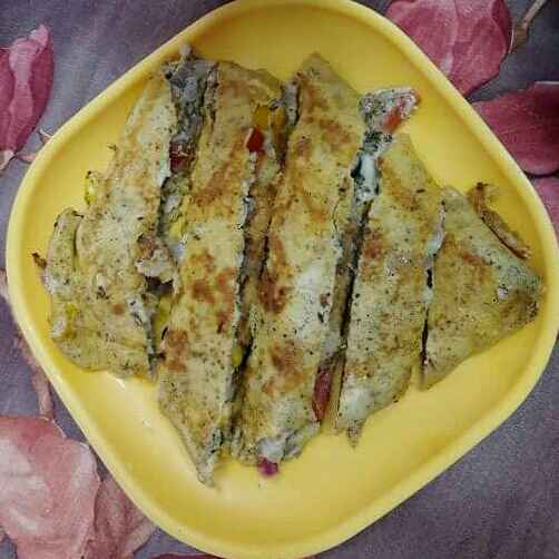 Photo of Cheese Pocket Omelette by Sharansh Maheshwary at BetterButter