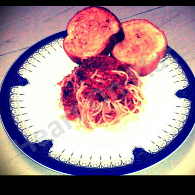 Photo of Spaghetti with Red pepper sauce by Sharel Lasrado at BetterButter