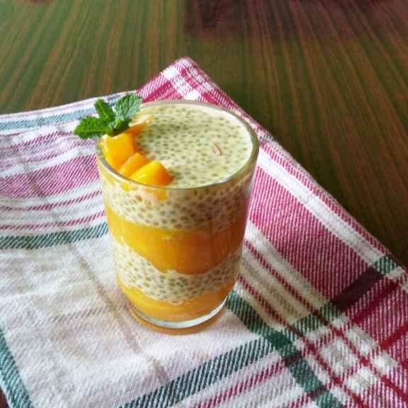 How to make Mango chia dessert