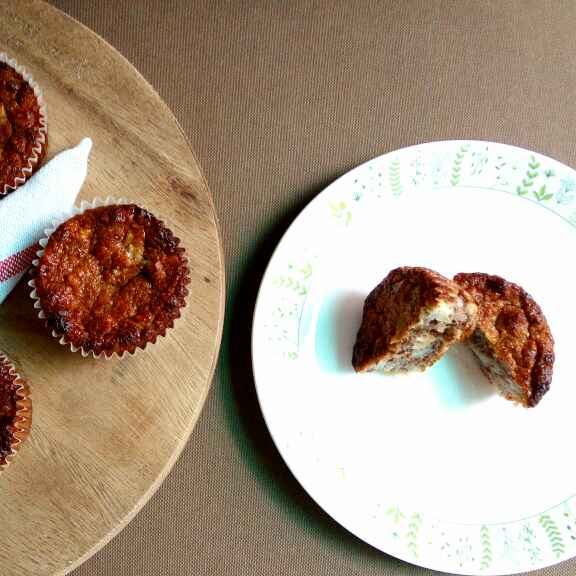 How to make Gluten free Banana Muffin