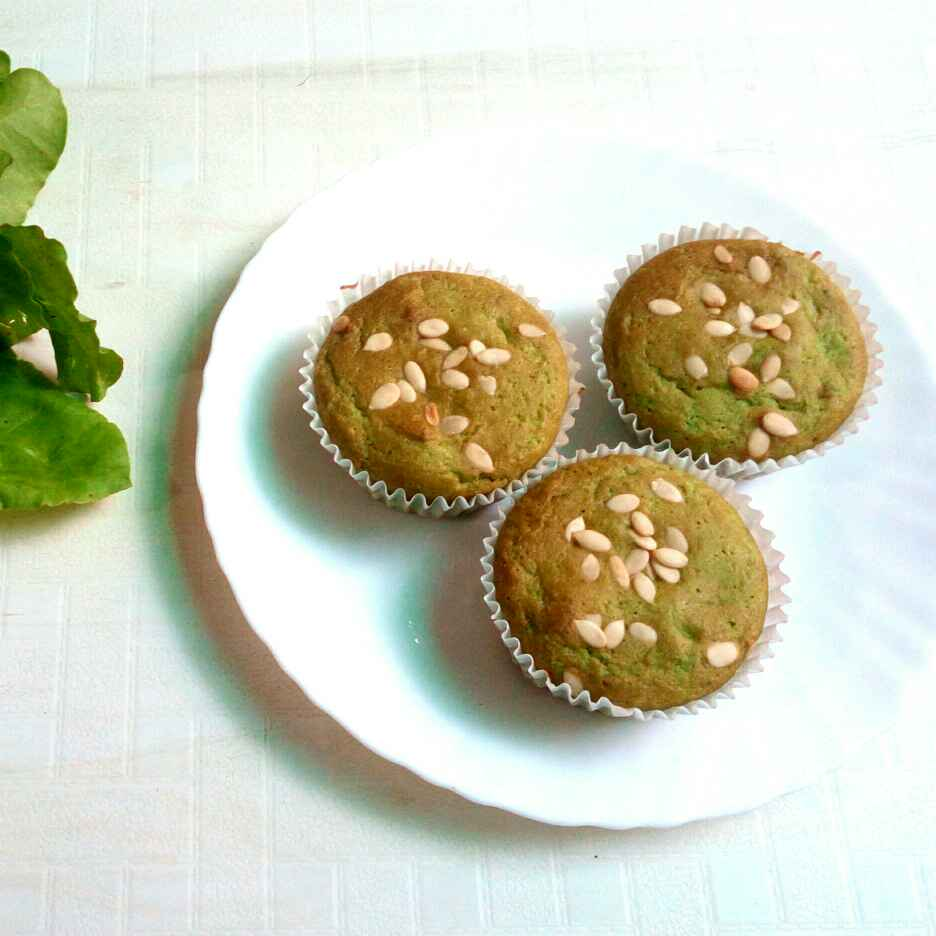 How to make Gluten and Sugar Free Spinach Cupcakes