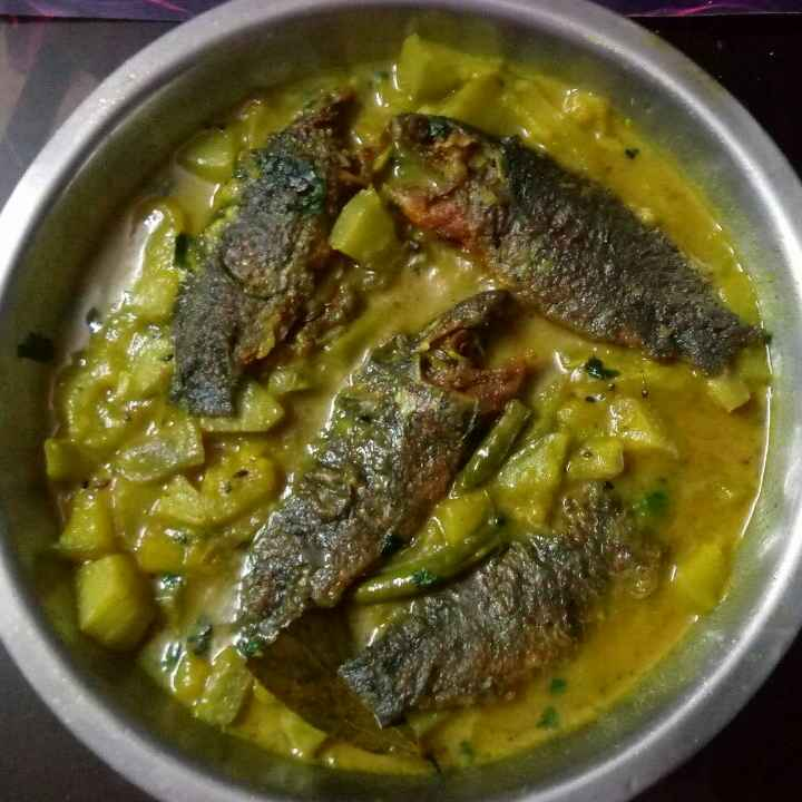 How to make লাউ কই