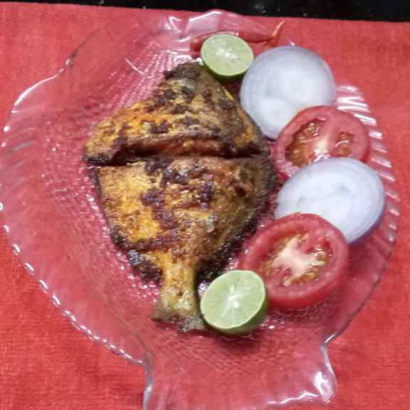 Photo of Pomfret fry by Sharmila Dalal at BetterButter
