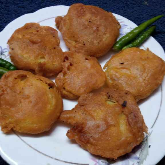 How to make আলুর পকোড়া