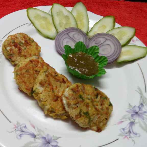 How to make Chicken shami kabab