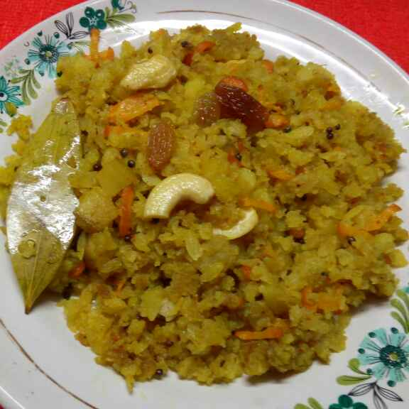 Photo of Chirer pulao by Sharmila Dalal at BetterButter