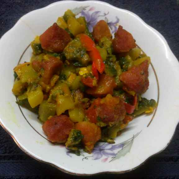 How to make উচ্ছে বড়ি
