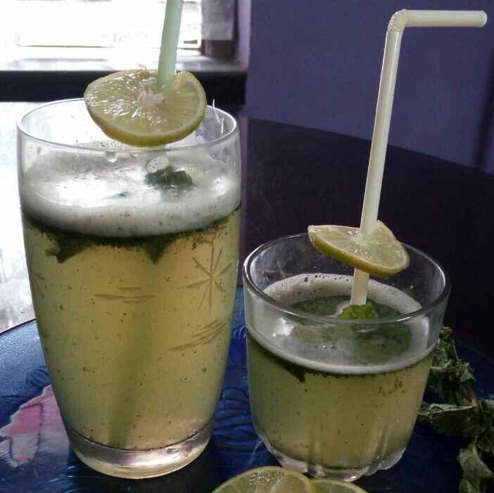Photo of Pudina lemon juice by Sharmila Dalal at BetterButter