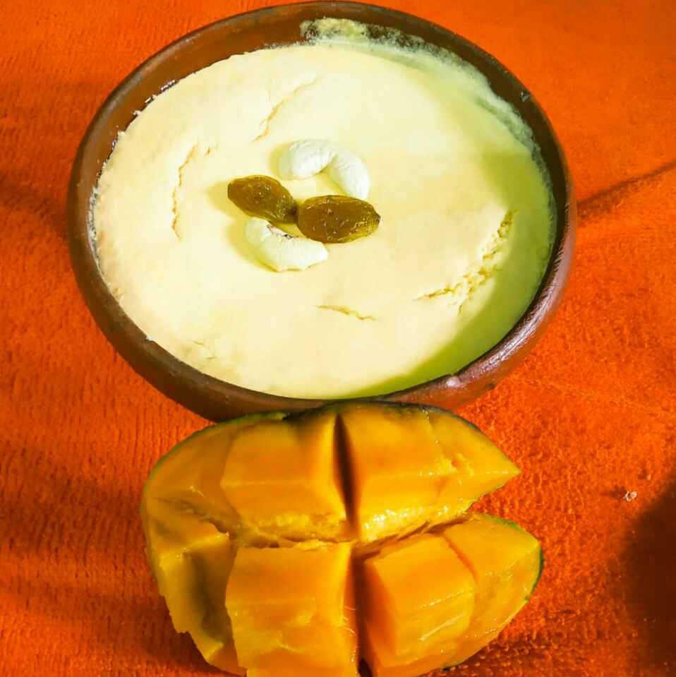 How to make আম দই