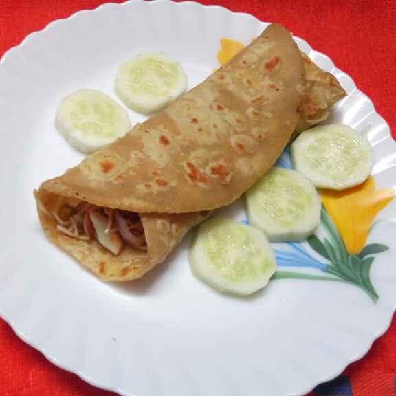 How to make চাউ রোল