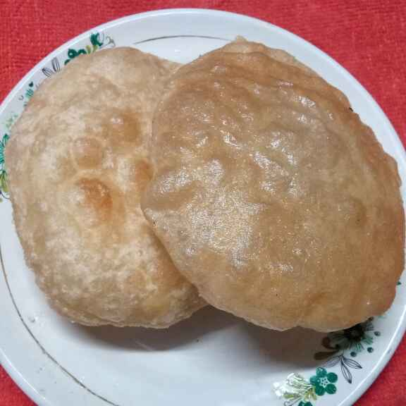 How to make আটার লুচি