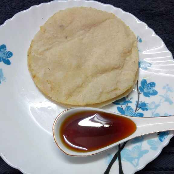 How to make চালের রুটি
