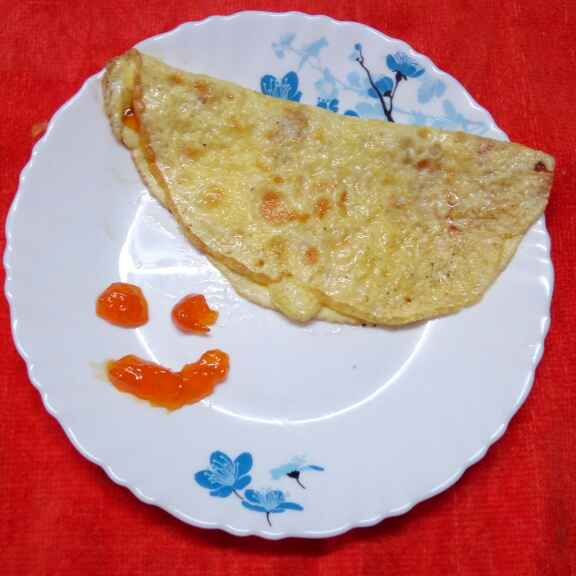 Photo of Sweet omelette by Sharmila Dalal at BetterButter
