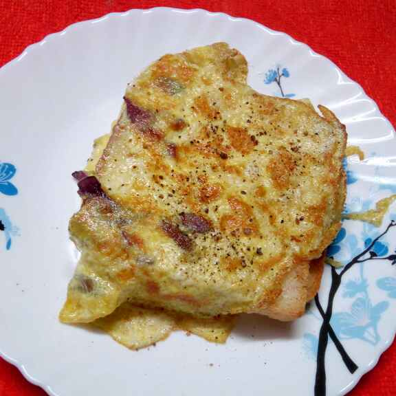 Photo of Egg bread toast by Sharmila Dalal at BetterButter