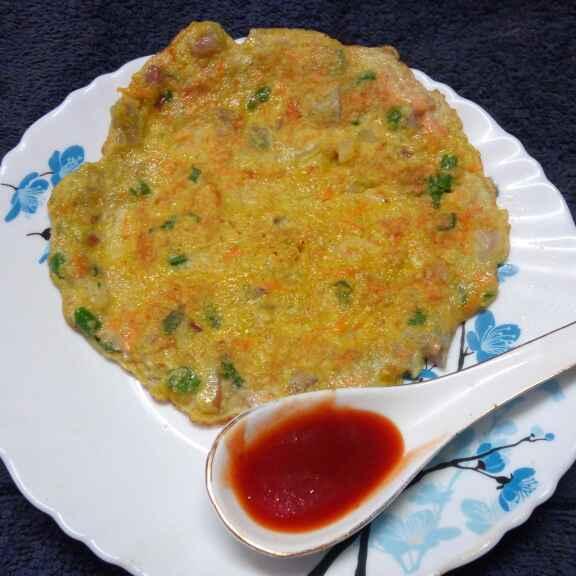 Photo of Oats egg omelette by Sharmila Dalal at BetterButter