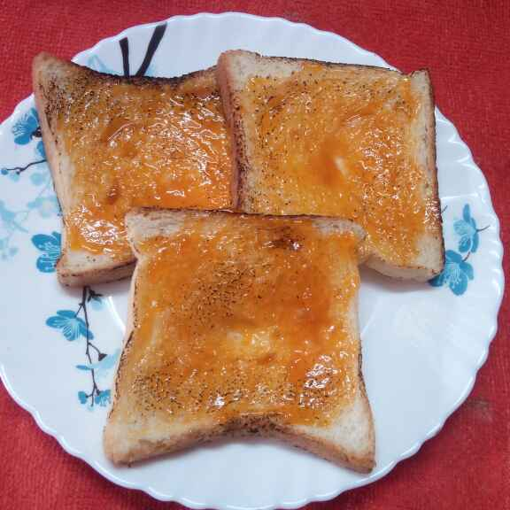 Photo of Jam bread by Sharmila Dalal at BetterButter
