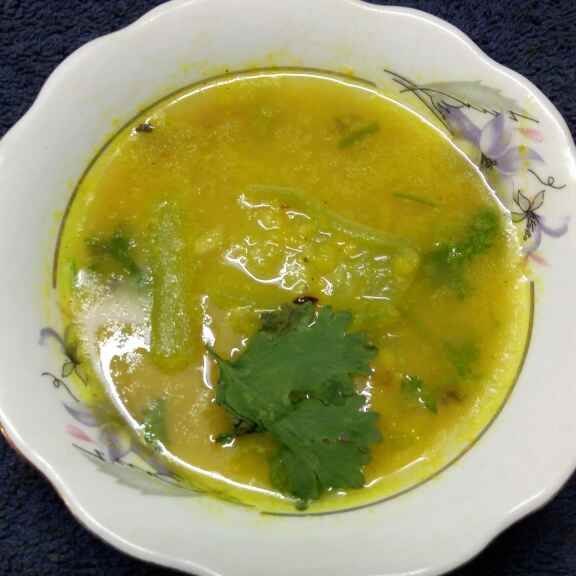 How to make Jhinge moong
